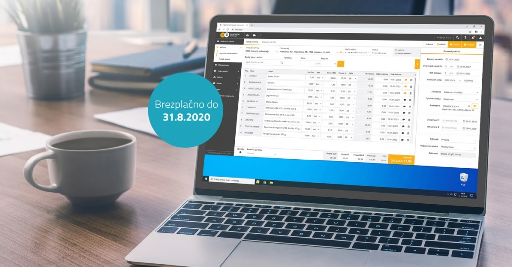 PANTHEON Web Light spletni program za mala podjetja